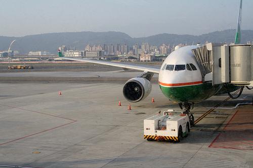 エバー航空の飛行機