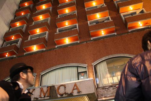 台北駅のYMCAホテル